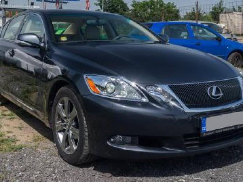 Dražba vozidla LEXUS GS 300 Executive, rok 2009, najeto 65 tis. km, odpočet DPH