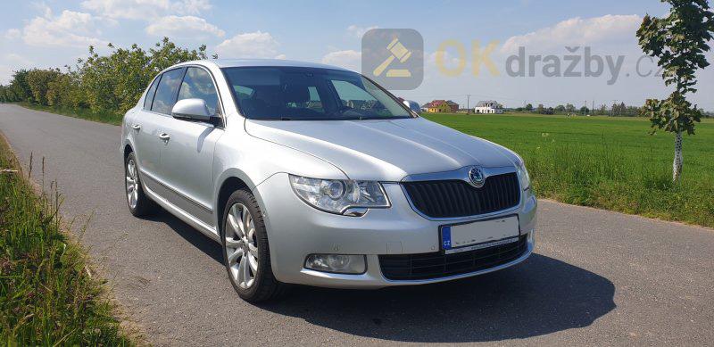 Aukce automobilu Škoda Superb