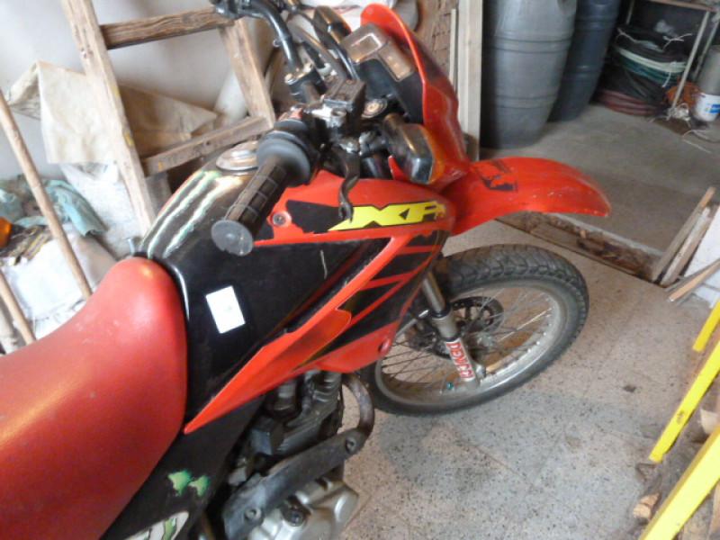 Dražba motocyklu Honda XR 125L