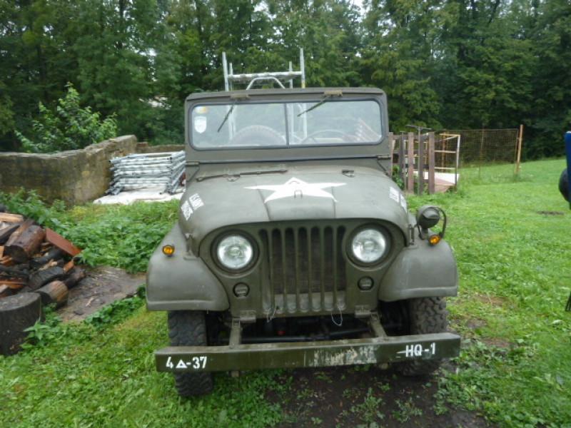 Dražba historického automobilu Jeep Willys M34 A1