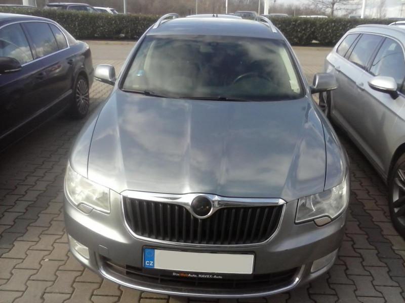 Dražba automobilu Škoda Superb