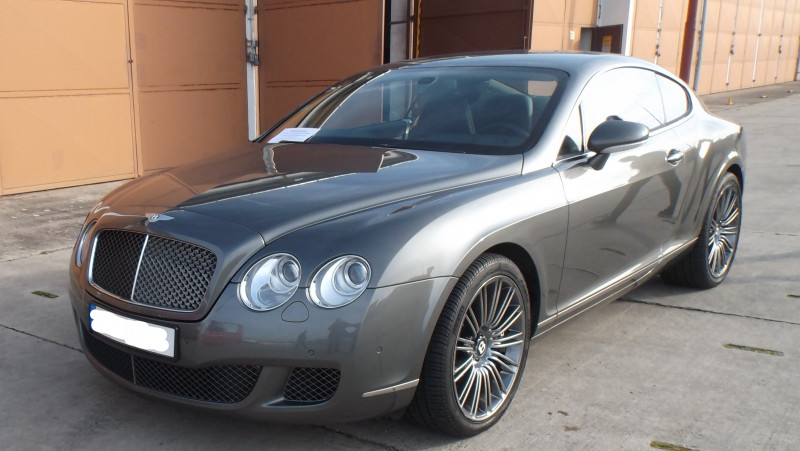 Dražba automobilu Bentley Continental GT SPEED I CF4 3W