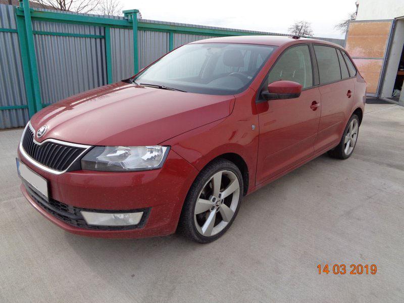 Dražba automobilu Škoda Rapid