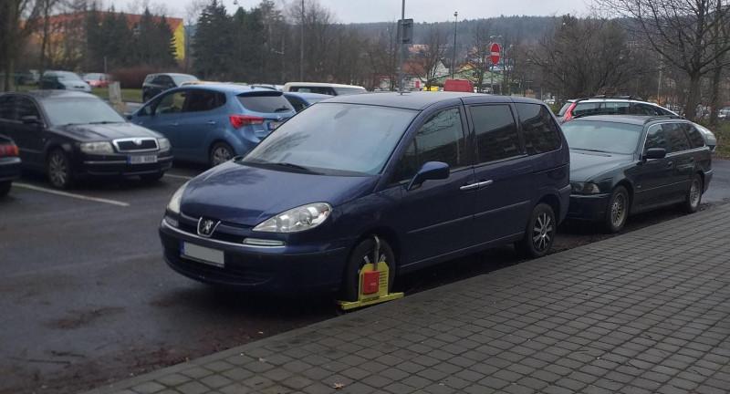 Dražba automobilu Peugeot 807, rok 2004