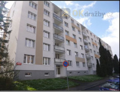 Dražba podílu (1/3) na bytě 2+1 v Praze - Hostivař
