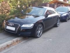 Dražba automobilu Audi A7, rok 2012