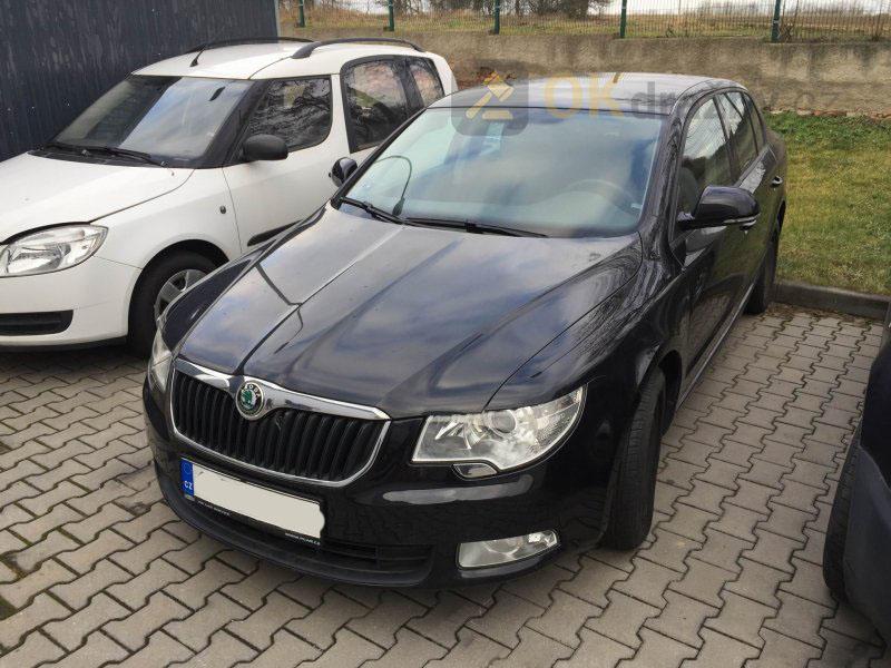 Dražba automobilu Škoda Superb 1.6TDi