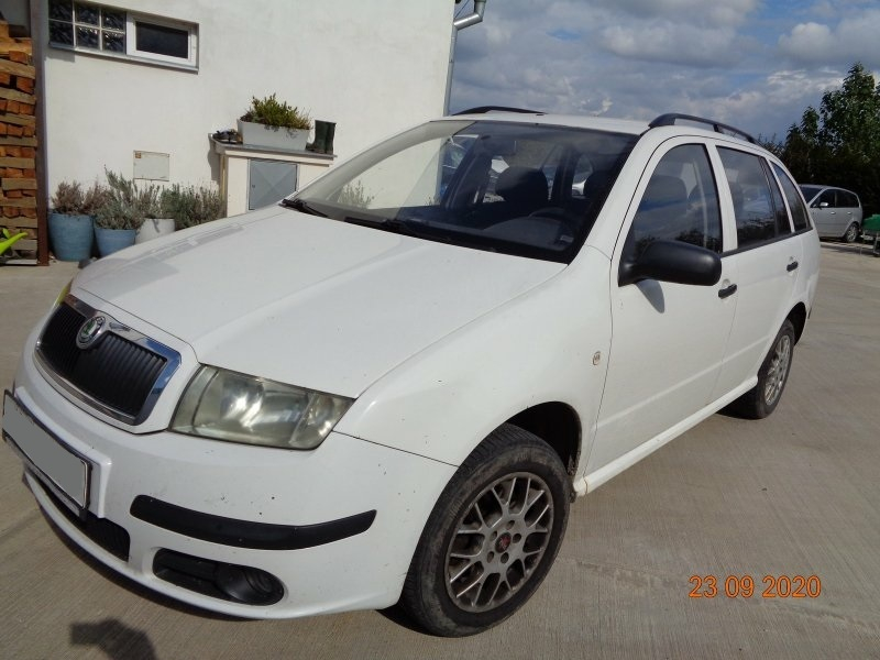 Dražba automobilu Škoda Fabia Combi