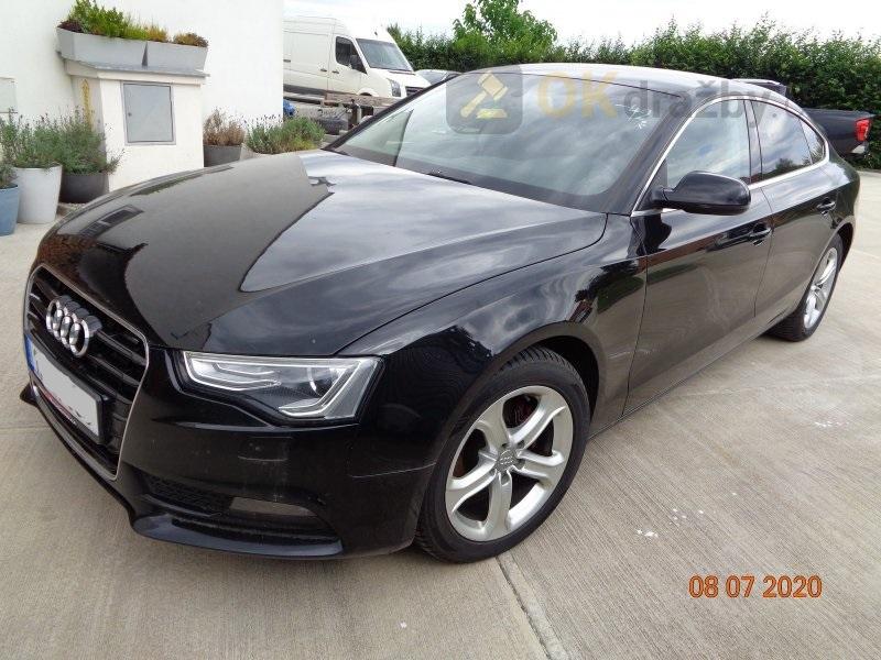 Dražba automobilu Audi A5