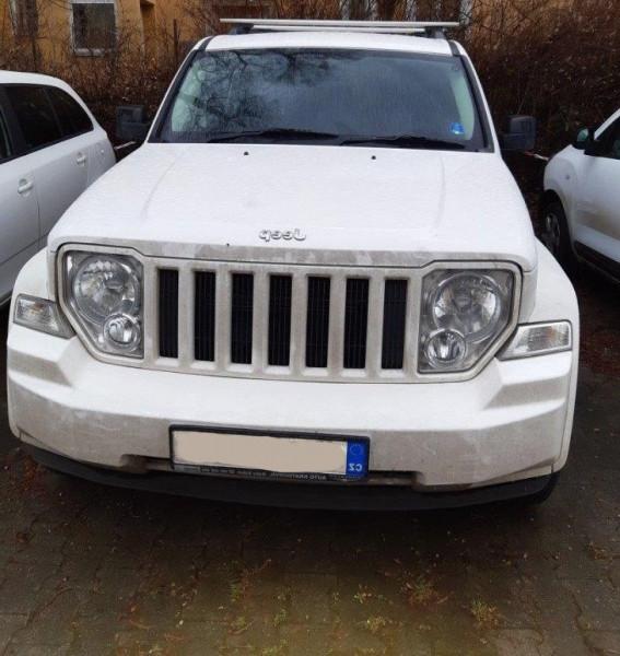 Aukce automobilu Jeep Cherokee