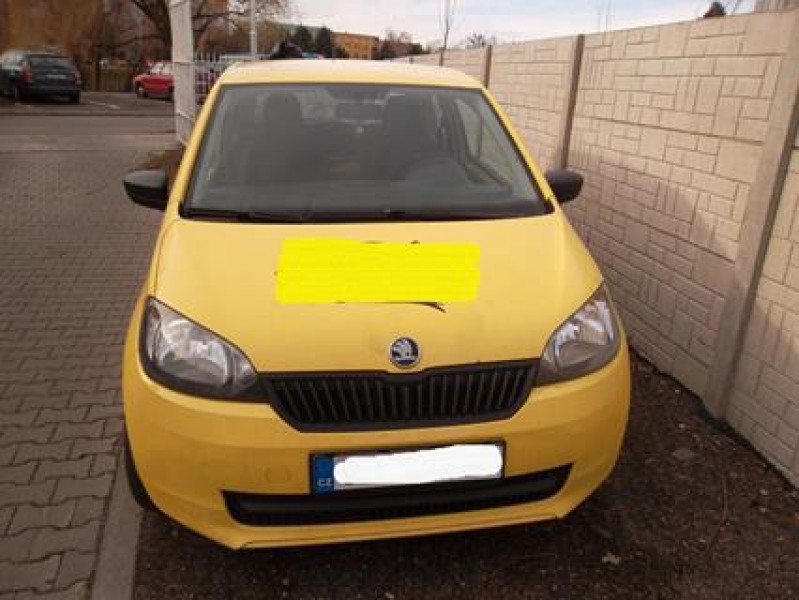 Dražba automobilu Škoda Citigo