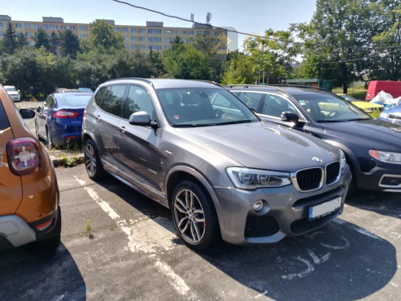 Dražba automobilu BMW X3 xDRIVE 20D