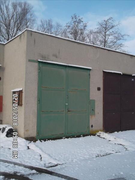 Dražba řadové garáže včetně pozemku