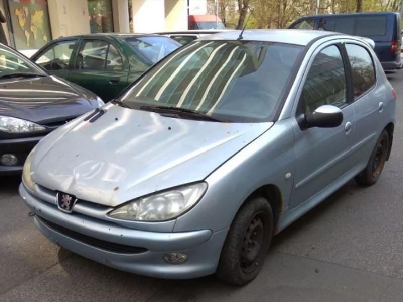 Dražba automobilu Peugeot 206