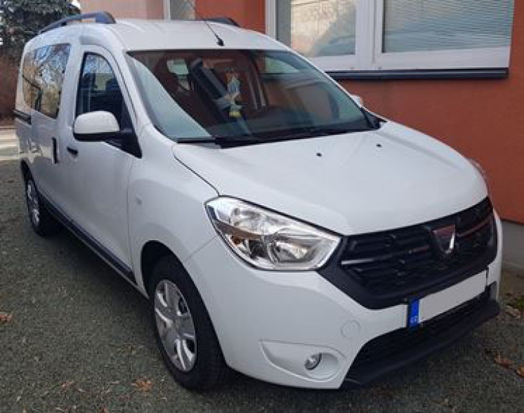Dražba automobilu Dacia Dokker, rok 2018