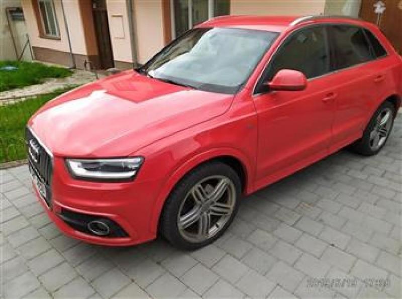 Dražba automobilu Audi Q3