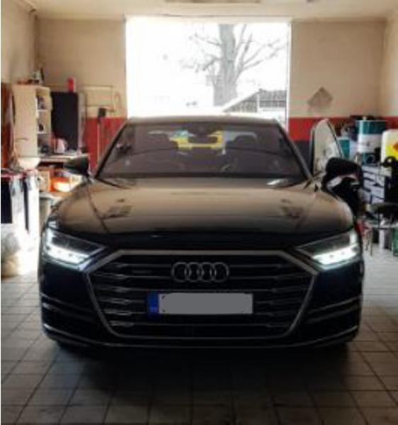 Dražba automobilu Audi A8