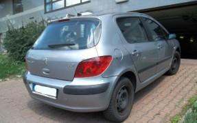 Dražba automobilu Peugeot 307