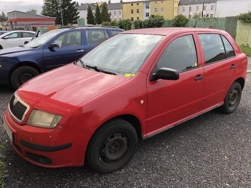 Dražba osobního automobilu Škoda