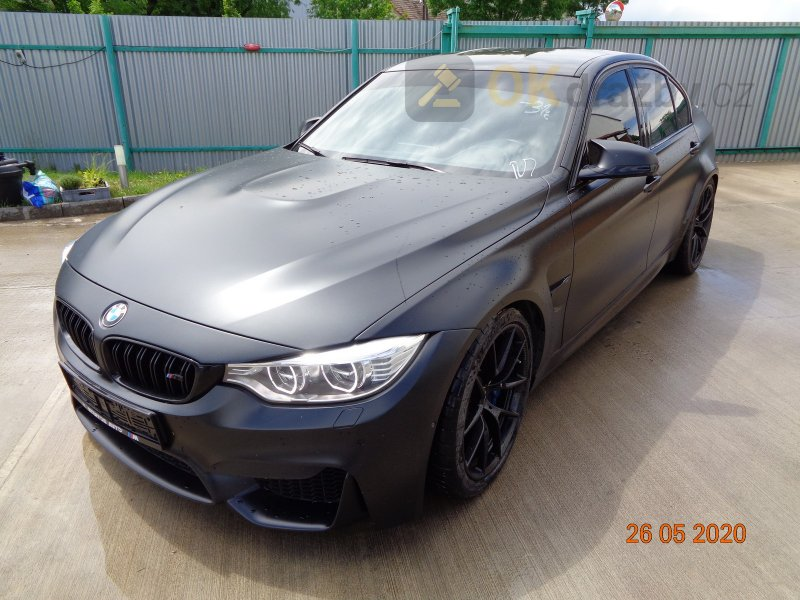 Dražba automobilu BMW M3