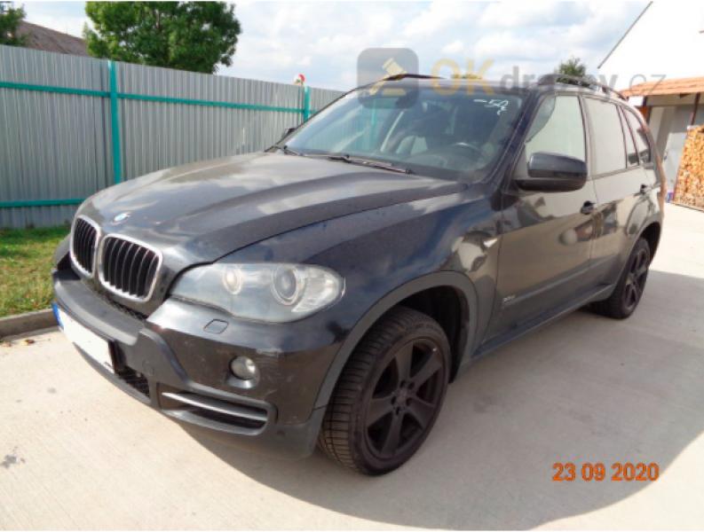 Dražba automobil BMW X5
