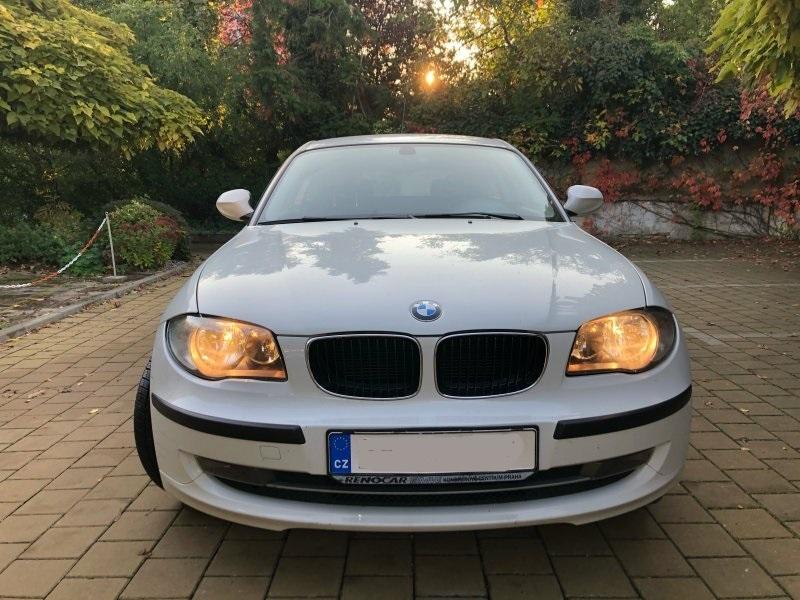 Dražba osobního automobilu BMW 116 I, rok 2011, bílé barvy